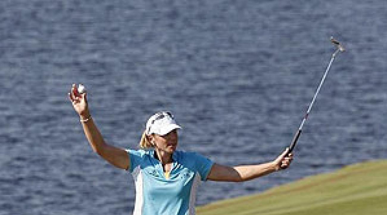 Sorenstam missed the cut at the ADT but finished with 89 wins worldwide, including the 1996 U.S. Open.