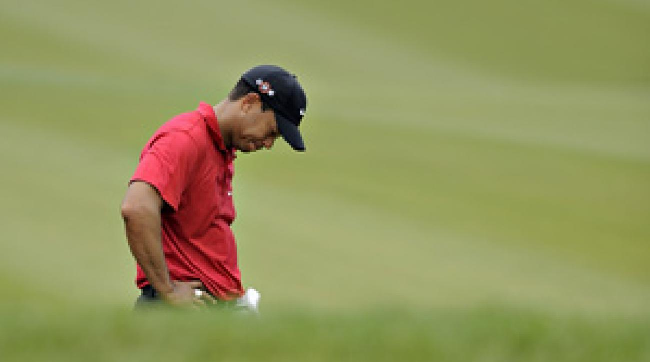 Tiger Woods was injured in a minor car accident early Friday morning.
