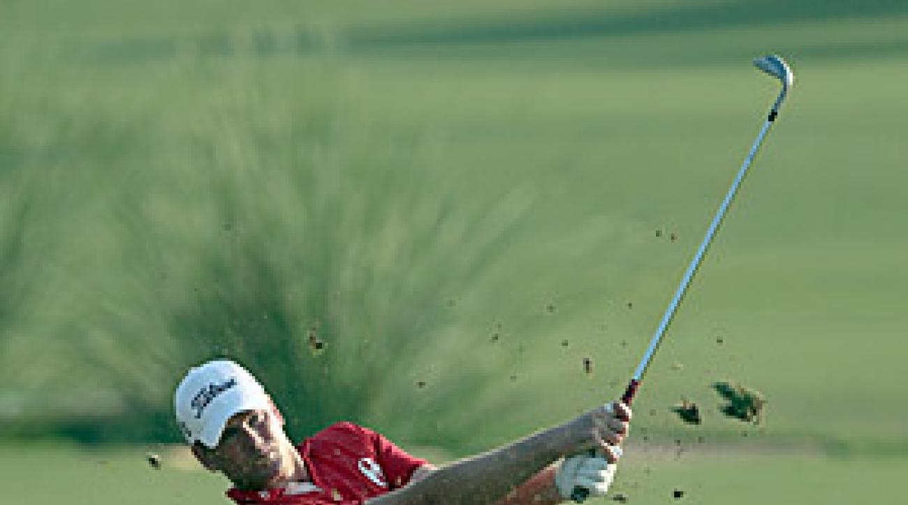 Karlsson's eagle on the third helped him force a sudden-death playoff where he defeated Ian Poulter for the victory.