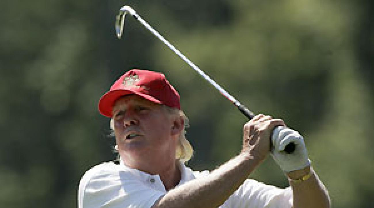 Donald Trump's plan would turn a stretch of sand dunes north of Aberdeen into a $2.1 billion golf resort.