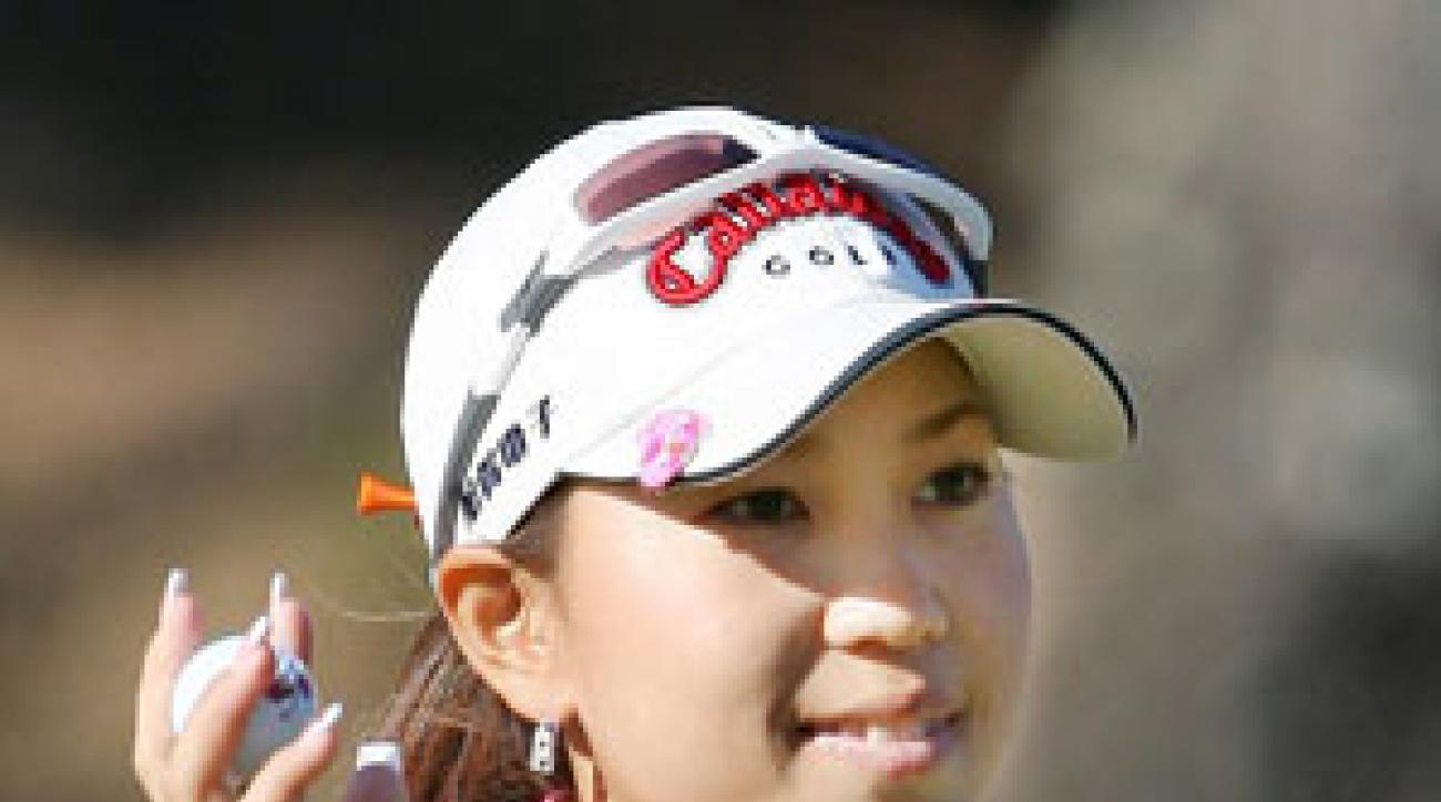 Momoko Ueda made six birdies and one bogey.
