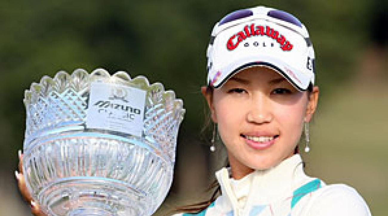 Momoko Ueda became the first Japanese player to win the Mizuno Classic in nine years.