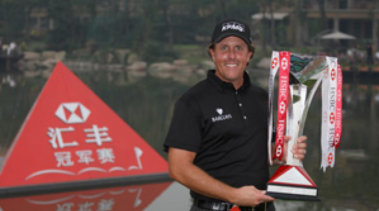 Phil Mickelson won his second WGC event on Sunday.