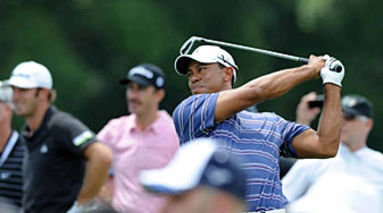 Tiger Woods is making his first start since the Frys.com Open last month.