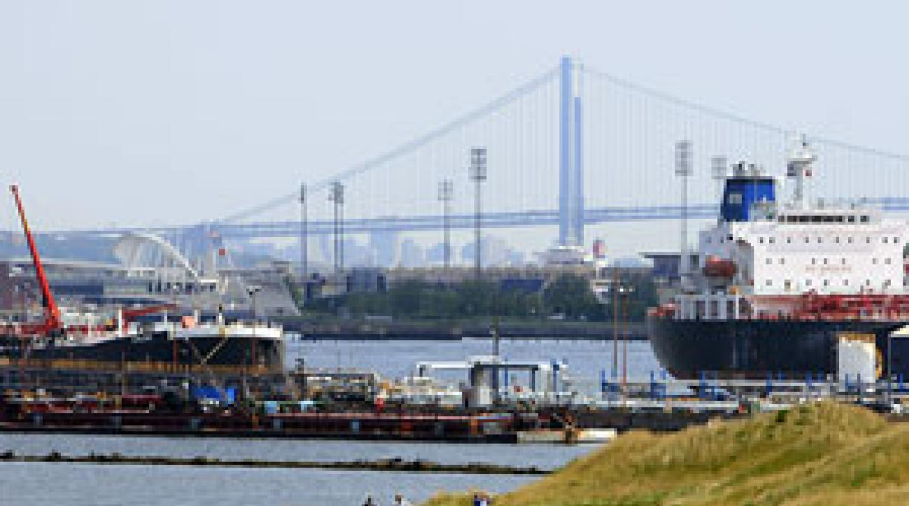 Bayonne, N.J. is a short ferry ride away from New York City.