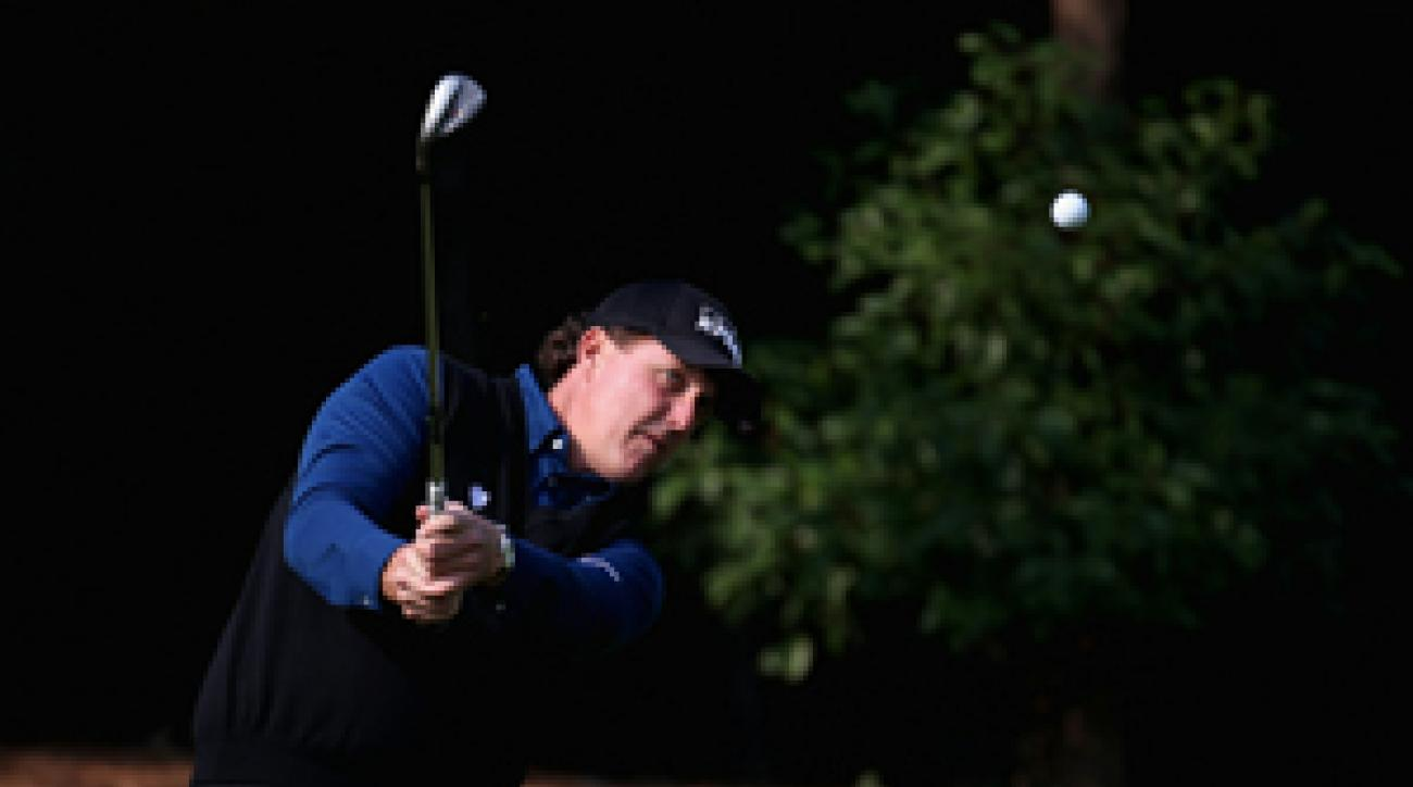 Phil Mickelson said he plans to bring his entire family when he makes his first appearance in the UAE.