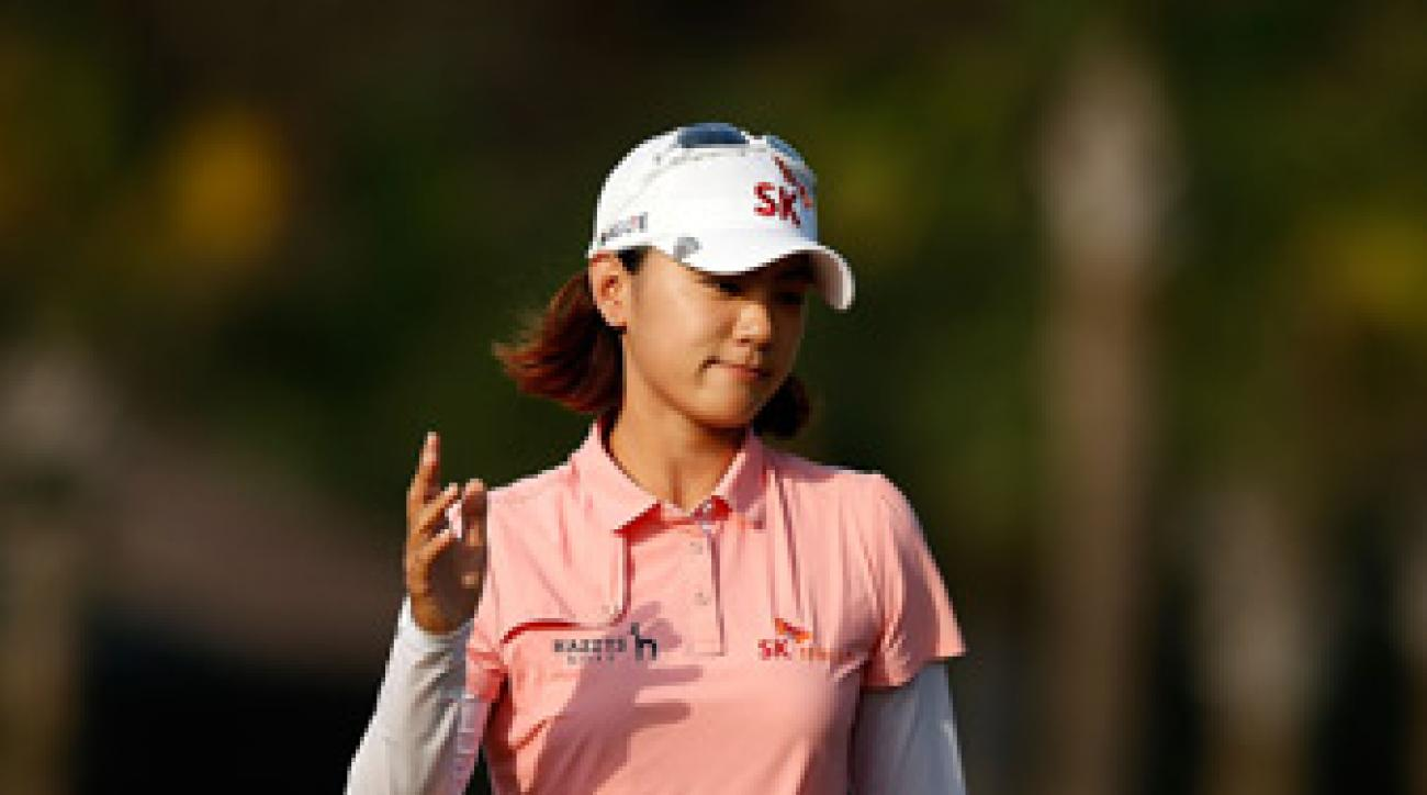 Na Yeon Choi is the only player with all three rounds in the 60s.