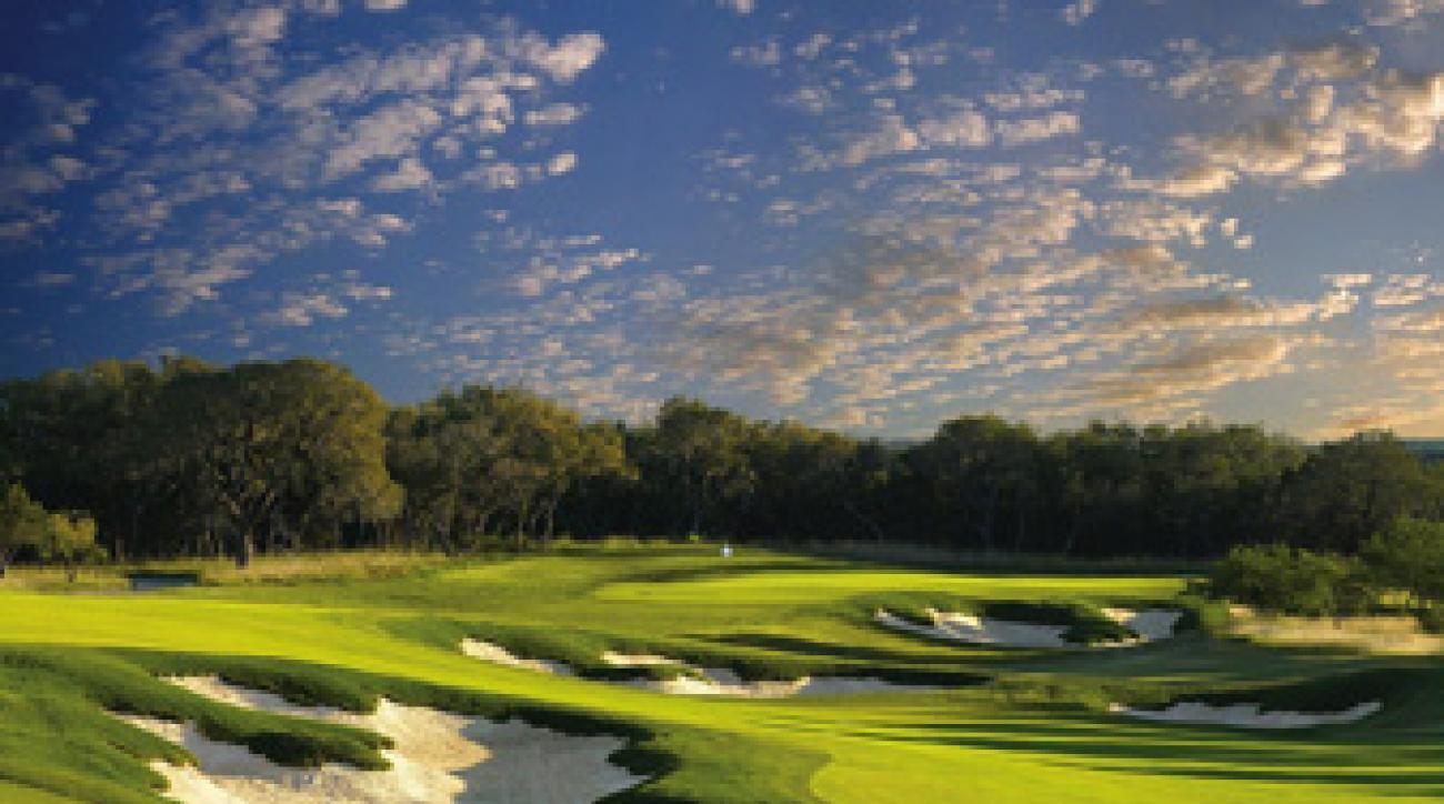 No. 11 at the Oaks Course at TPC San Antonio.