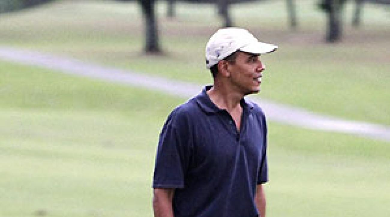 Despite his critics, Obama teed it up in Hawaii on Dec. 31.