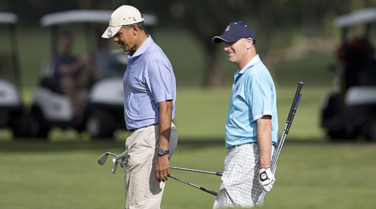 barack obama new zealand pm hit golf course in hawaii golf com