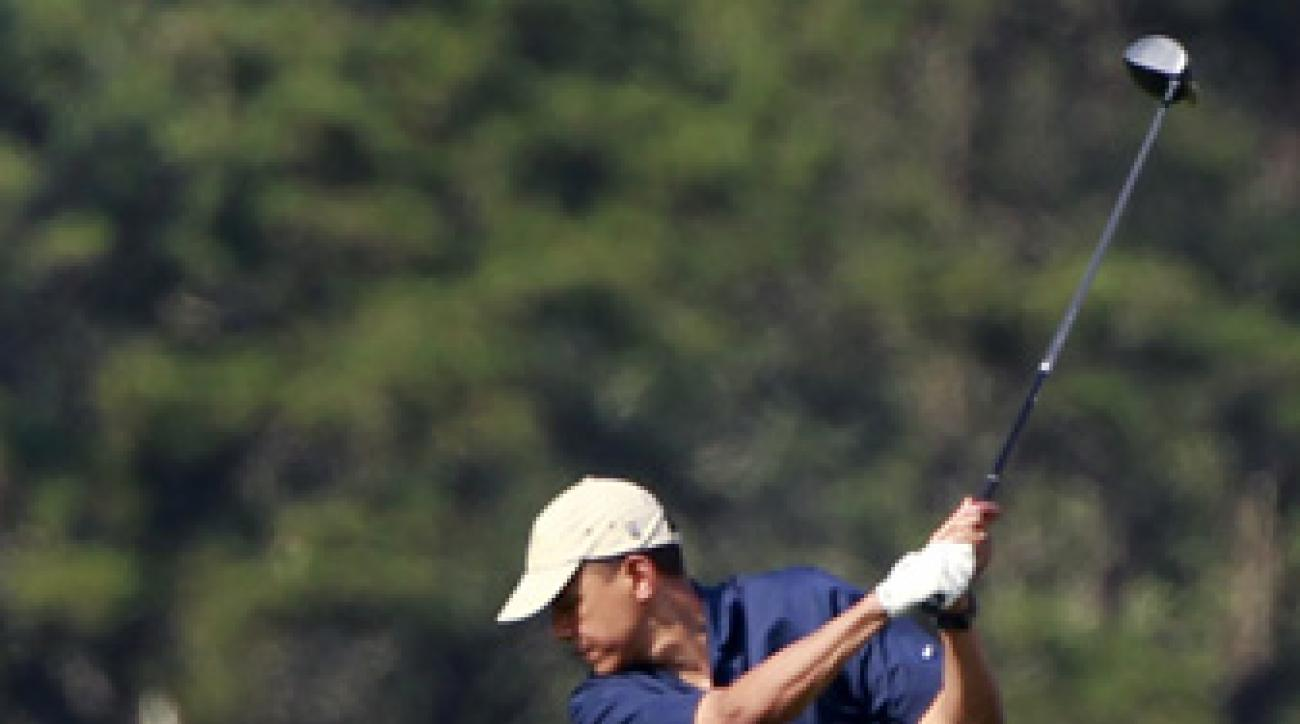 President Barack Obama often hits the links while on vacation.