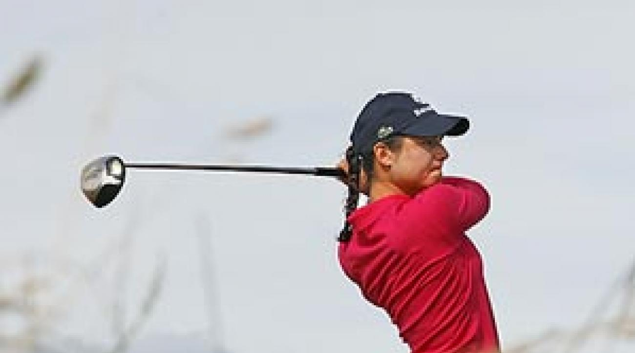 Ochoa one of the longest hitters on the women's tour.