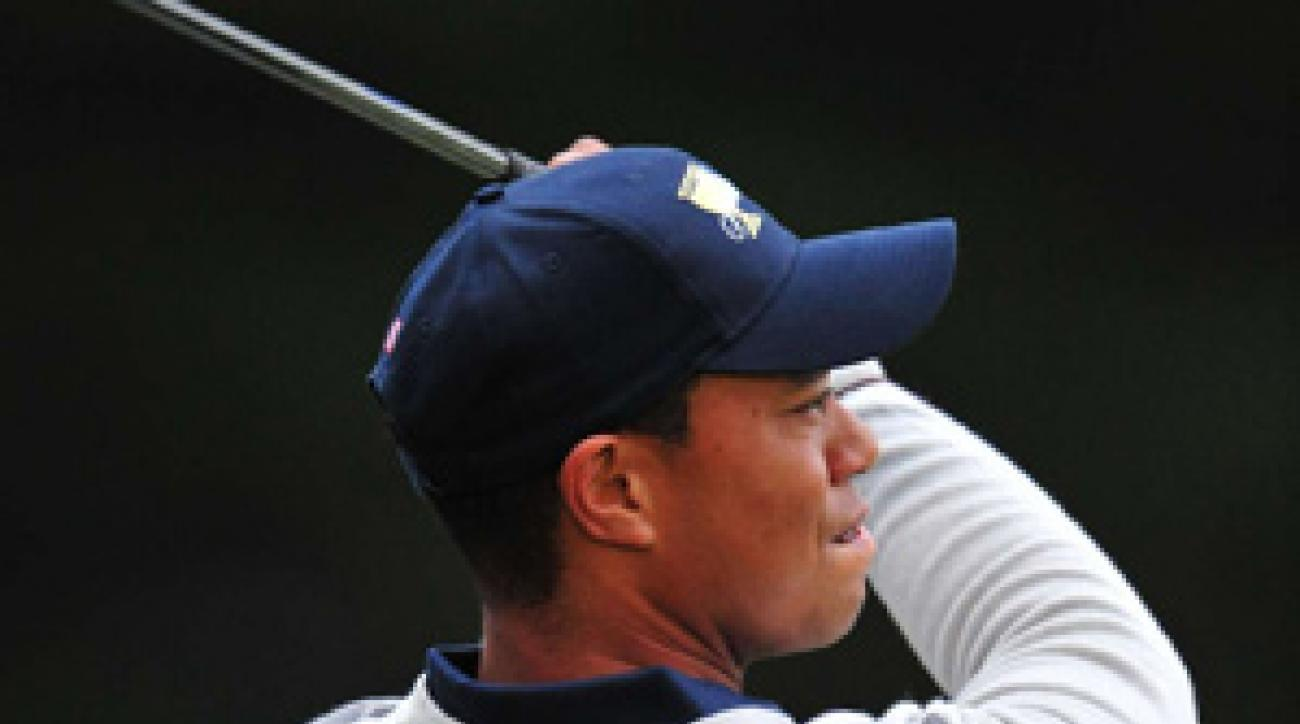 Tiger Woods and Steve Stricker have yet to lose a match this week.