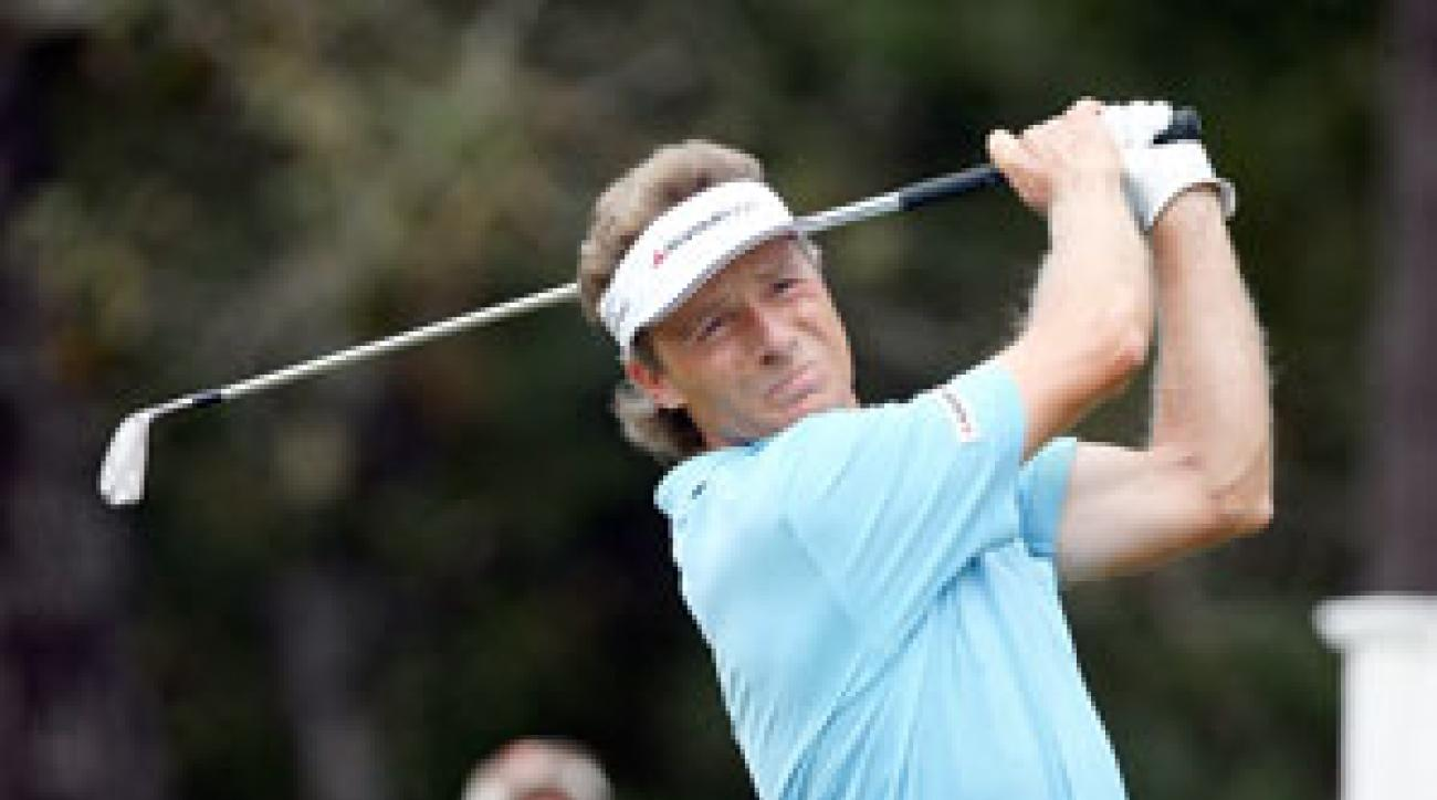 Bernhard Langer closed with an 8-under 64 for an eight-stroke victory