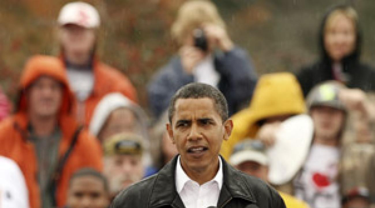 Barack Obama would be the perfect host for the Mercedes Championship.