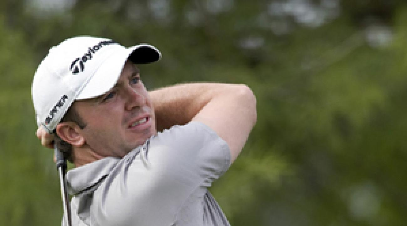 Martin Laird made six birdies and one eagle on Saturday.