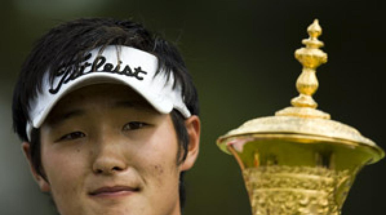 "U.S. Amateur champ Danny Lee was detained at a New Zealand airport for ""inappropriate comments."""