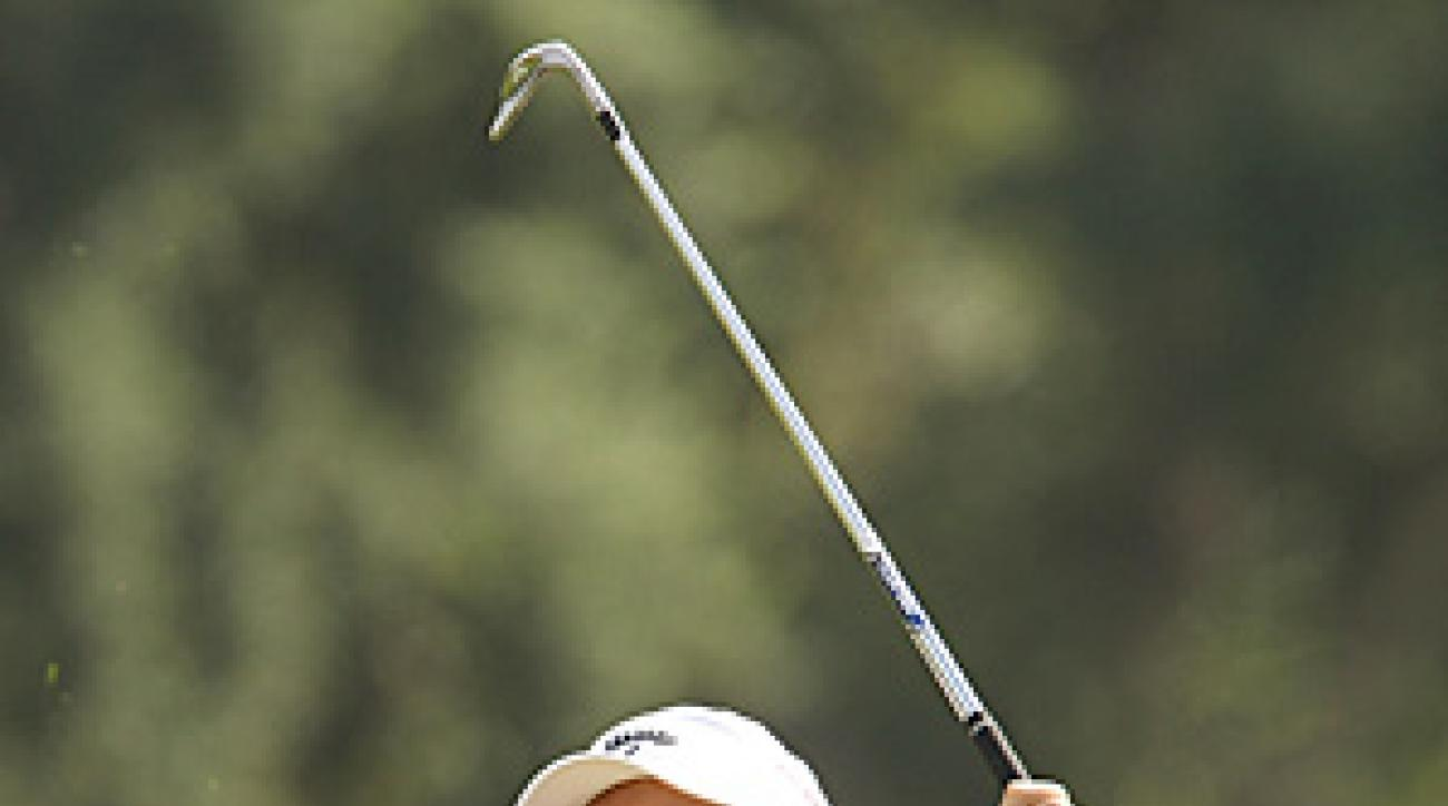 Graeme McDowell has a two-stroke lead going into the weekend.