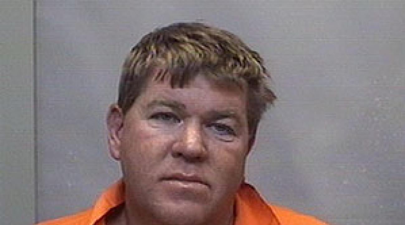 John Daly was taken to the Forsyth County jail for 24 hours to get sober.