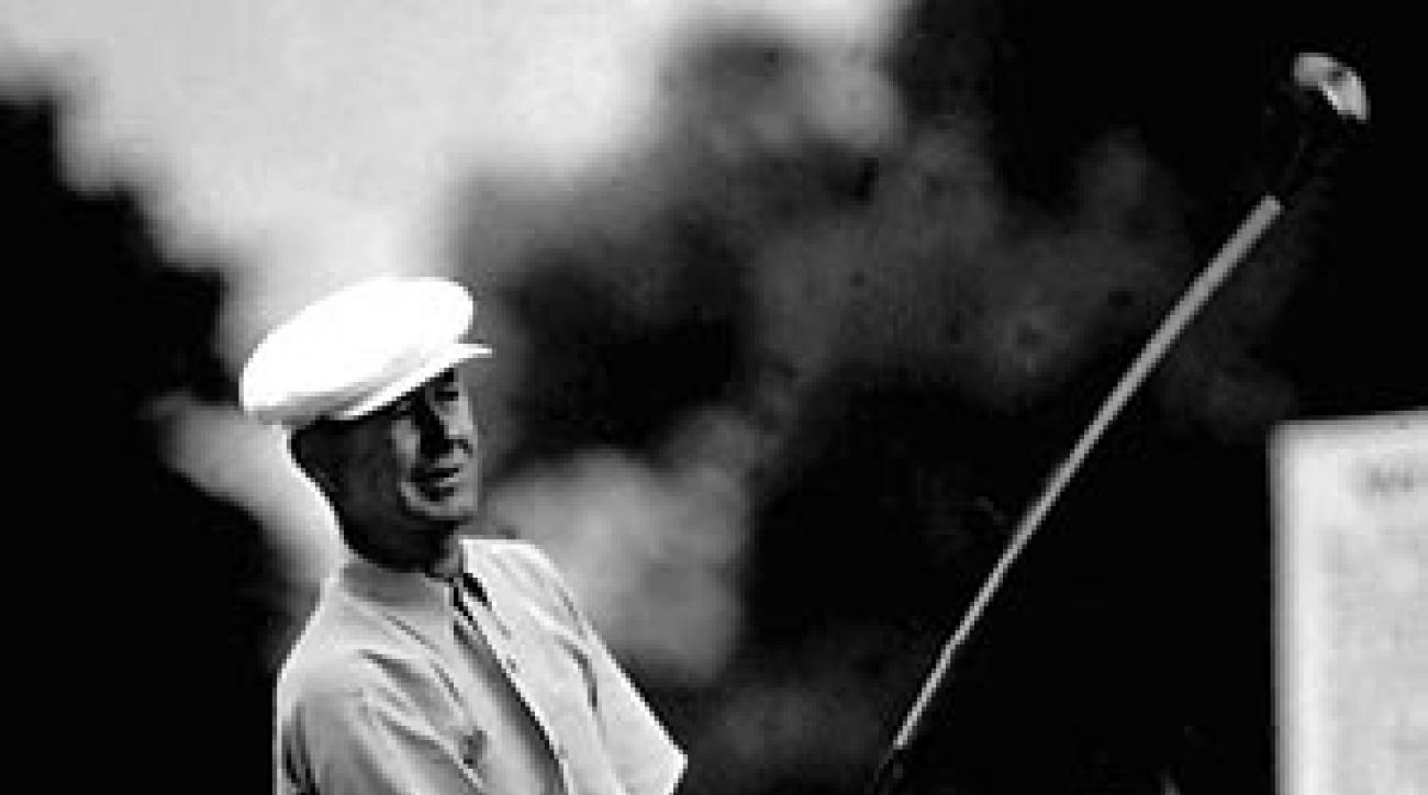 Byron Nelson turned pro in 1932. He won 47 tournaments, including five majors.