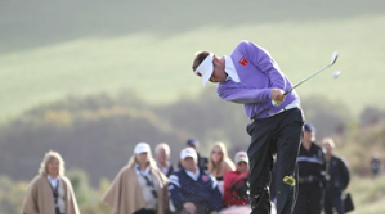 Jeff Overton hasn't won on Tour, but he is making a name for himself at the Ryder Cup.