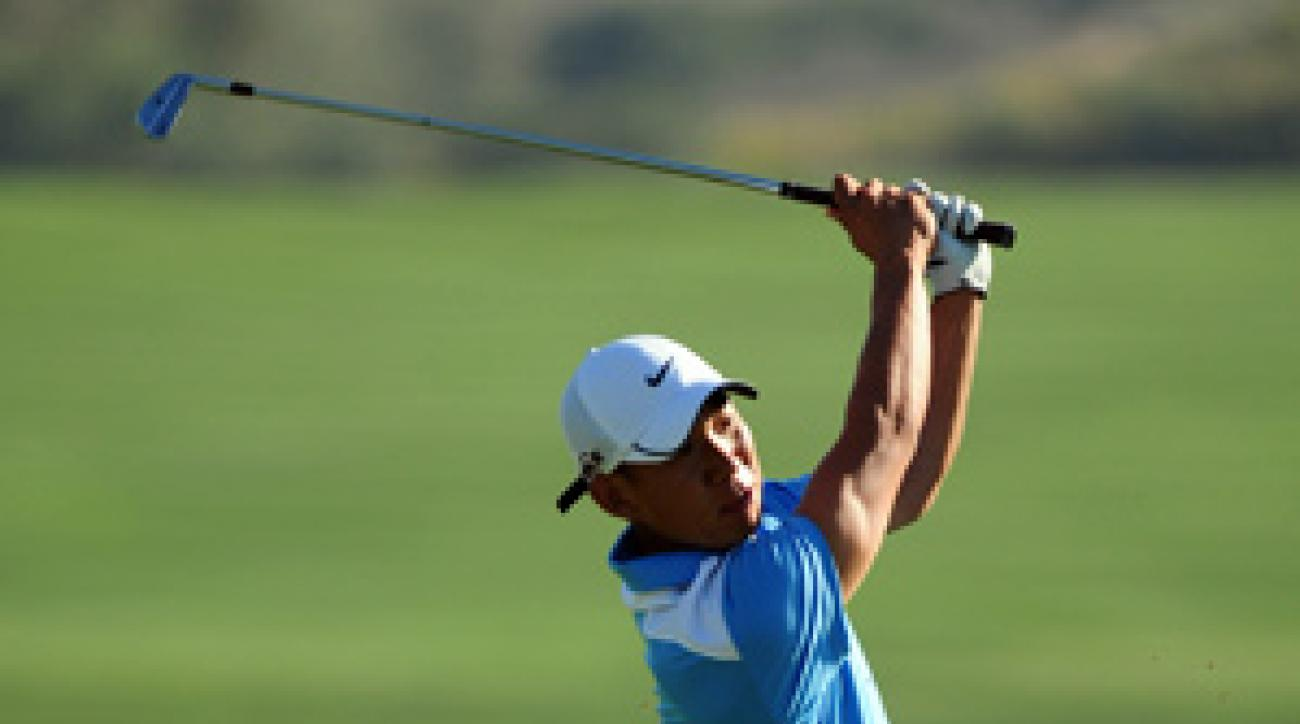 Anthony Kim beat Robert Allenby at the Presidents Cup.