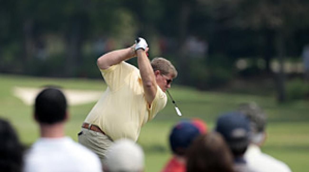 John Daly has been working with instructor Rick Smith since the PGA Championship.