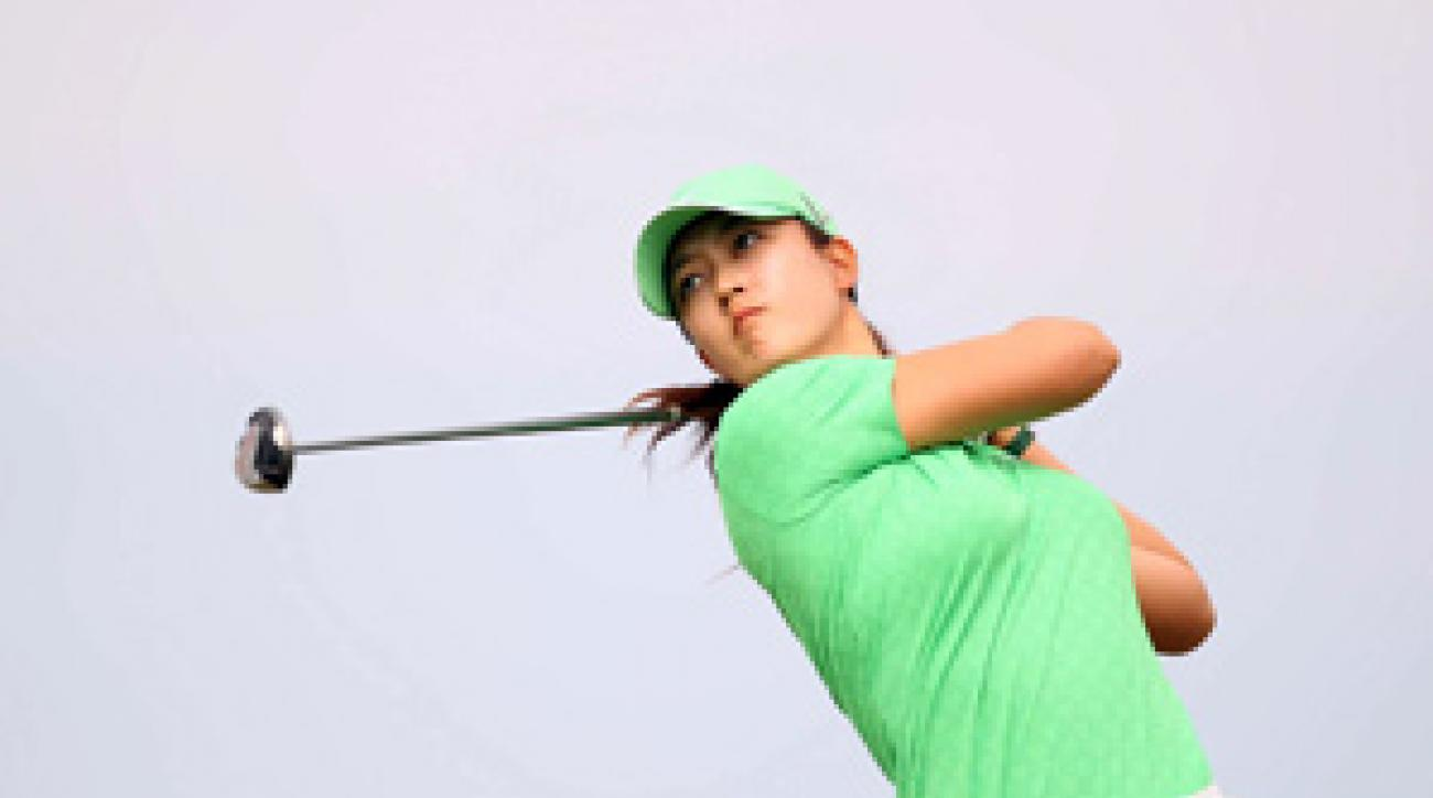 Michelle Wie recorded her seventh top 10 of the season.