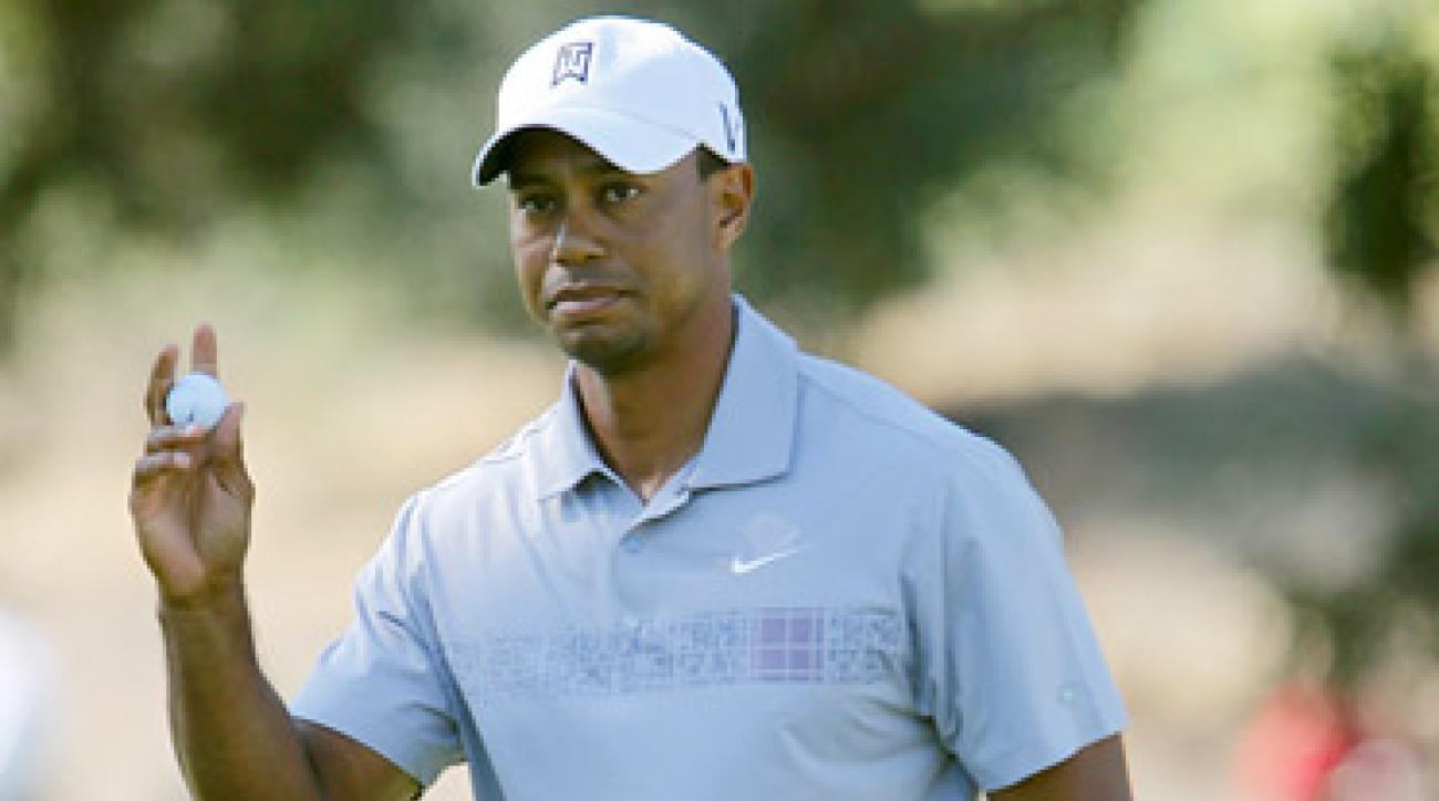 Tiger Woods finished tied for 30th at the Frys.com Open.