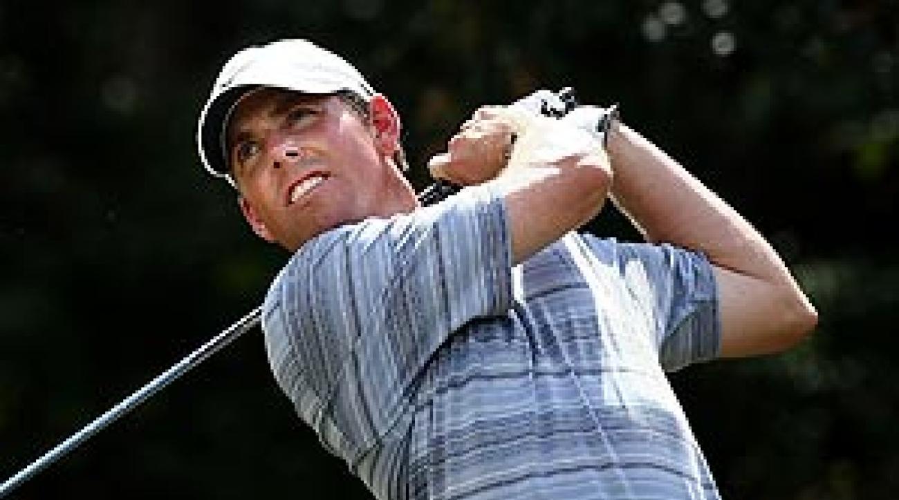 Leonard has won the Valero Texas Open twice before.