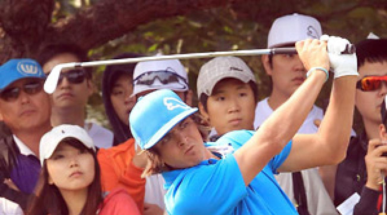 Rickie Fowler took control on Sunday at the Korea Open, capturing his first professional victory.