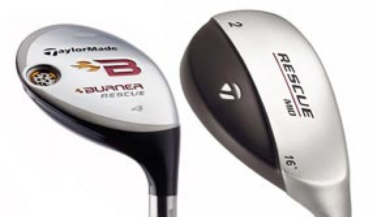 TaylorMade's latest hybrid is 20% larger than earlier models.