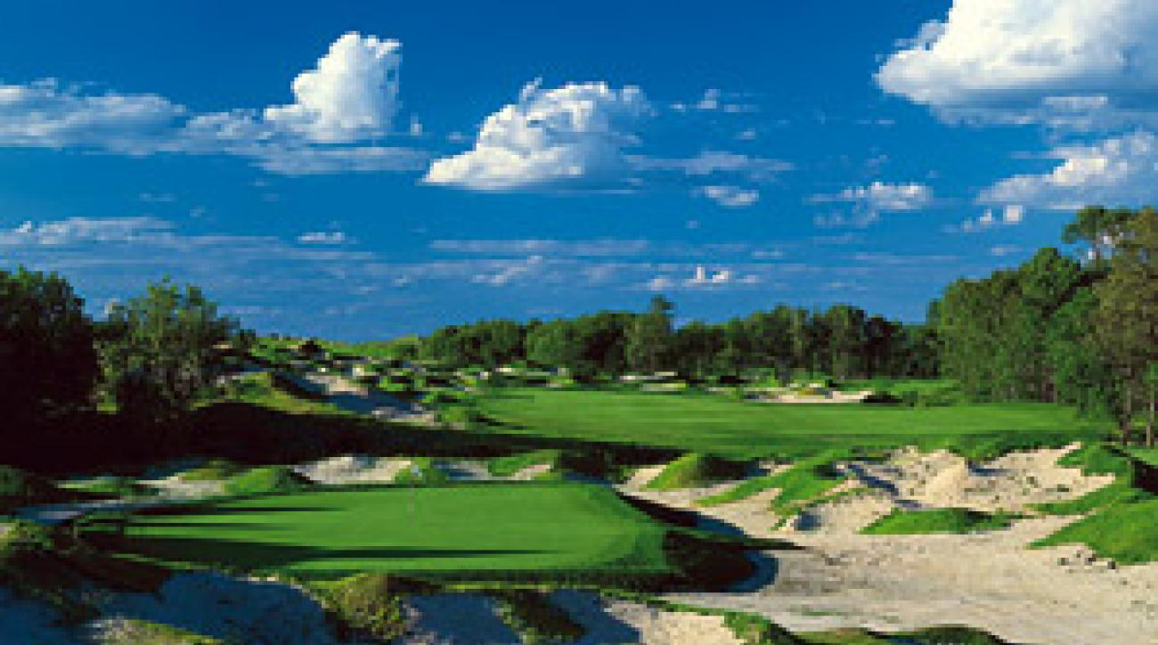 "Forget to bring your ""A"" sand game? Better board the next plane and fly as far as you can from the Irish course at Whistling Straits."