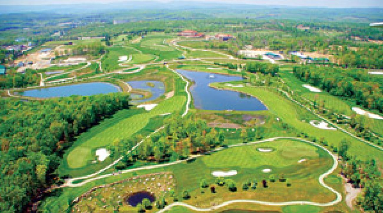 Nemacolin is a golf and sportsman's paradise.