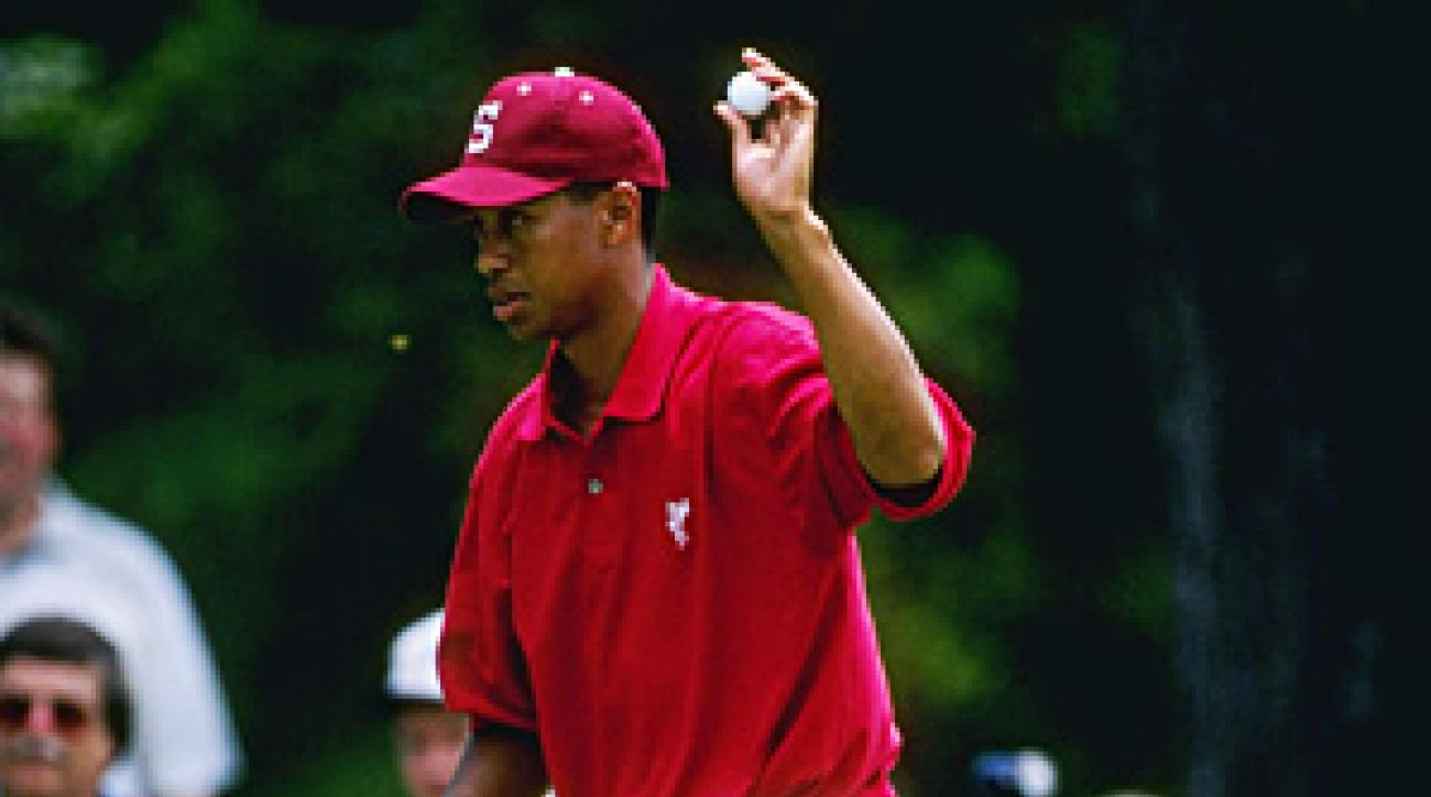 Tiger learned the art of domination at Stanford.