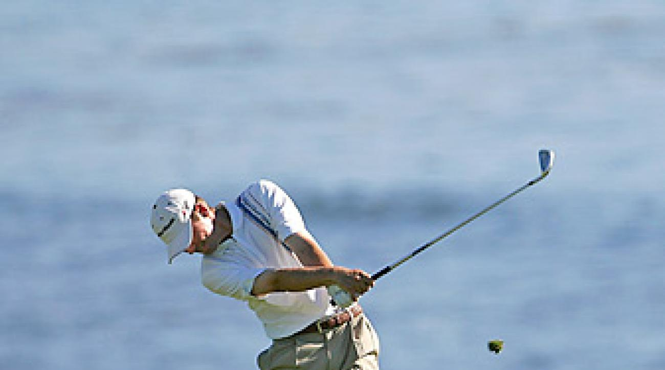 Sean O'Hair at the 2006 Pebble Beach National Pro-Am.