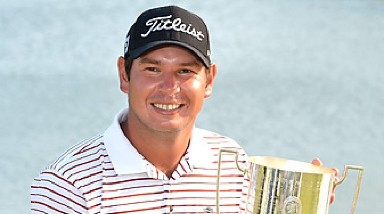 Daniel Popovic won the Australian PGA by four shots.