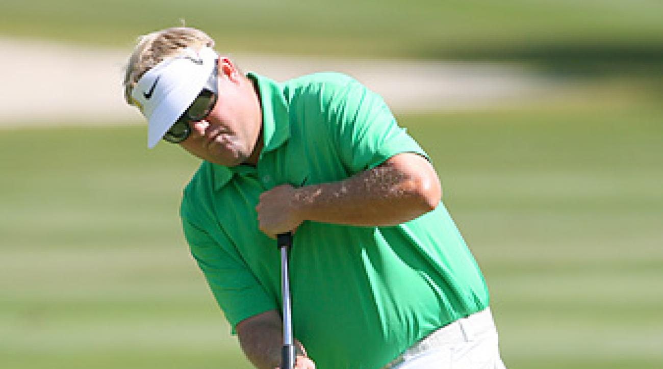 Carl Pettersson led the field in putting in Harbour Town.