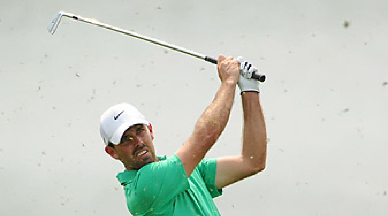 Charl Schwartzel shot a seven-under 65 on Thursday.