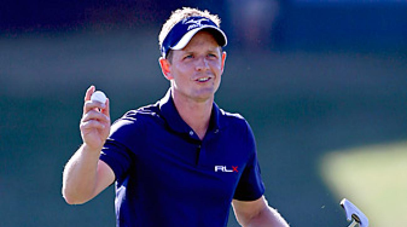 Luke Donald enters the Ryder Cup as the third-ranked player in the world.