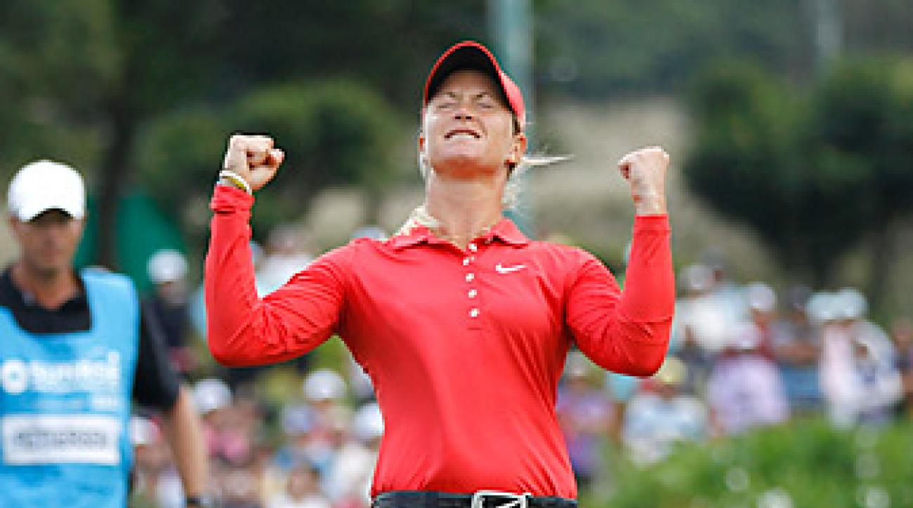 Suzann Pettersen won her second straight LPGA event on Sunday in Taiwan.