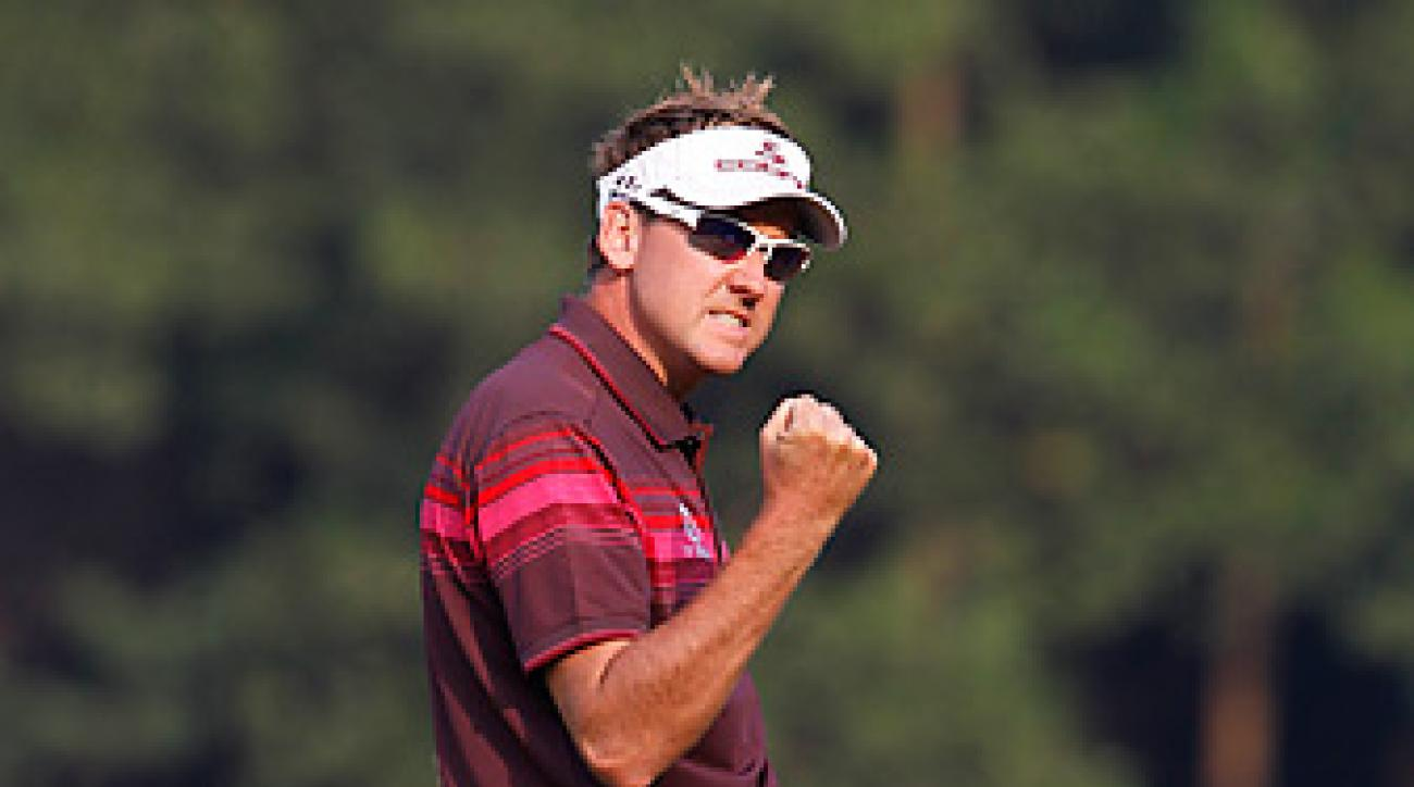 Ian Poulter shot a final-round 65 to earn his second career WGC title.