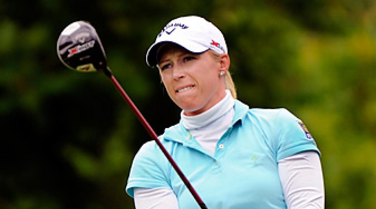 Morgan Pressel is seeking her first title since 2008.