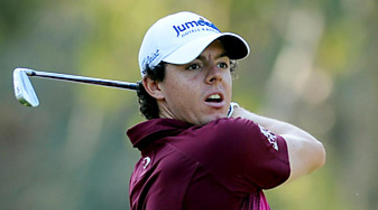 Rory McIlroy will have a busy few weeks in Asia.