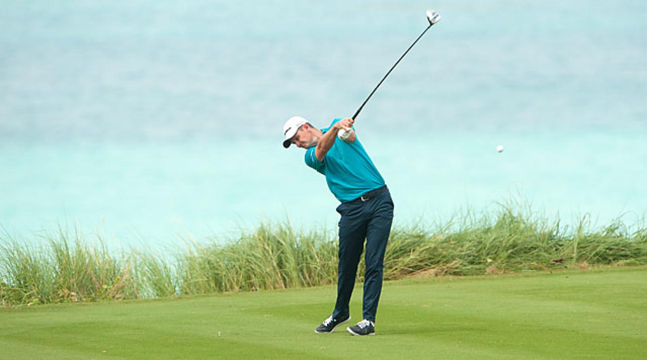 Justin Rose shot a four-under 67 in his opening round in Bermuda.