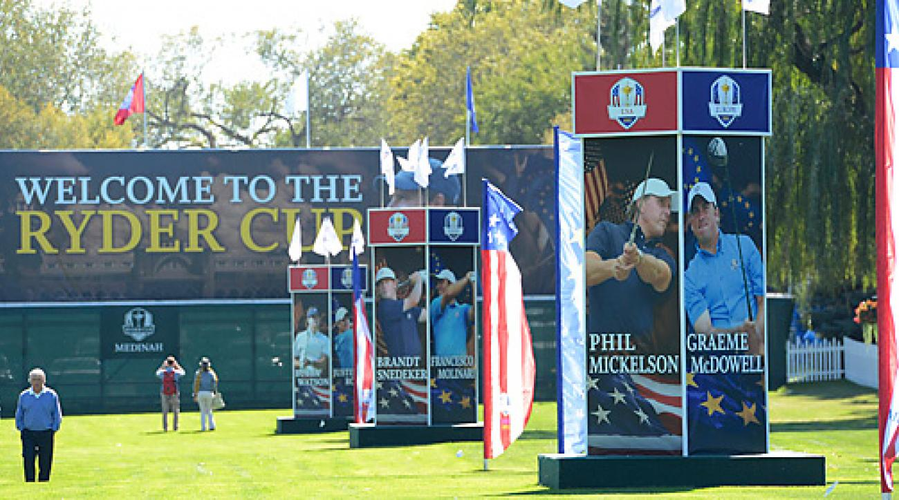 The 2012 Ryder Cup begins Friday at Medinah Country Club.