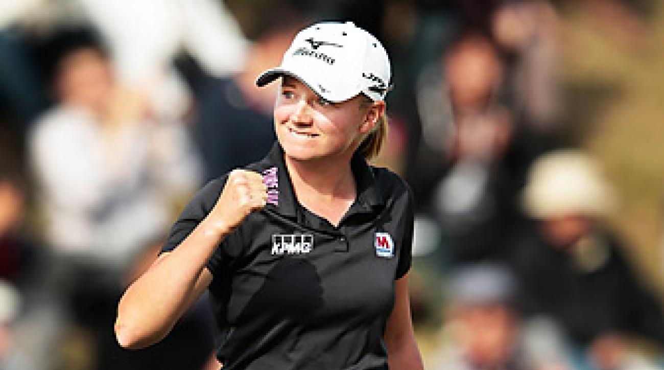 Stacy Lewis won the Mizuno Classic for her fourth title of the year.