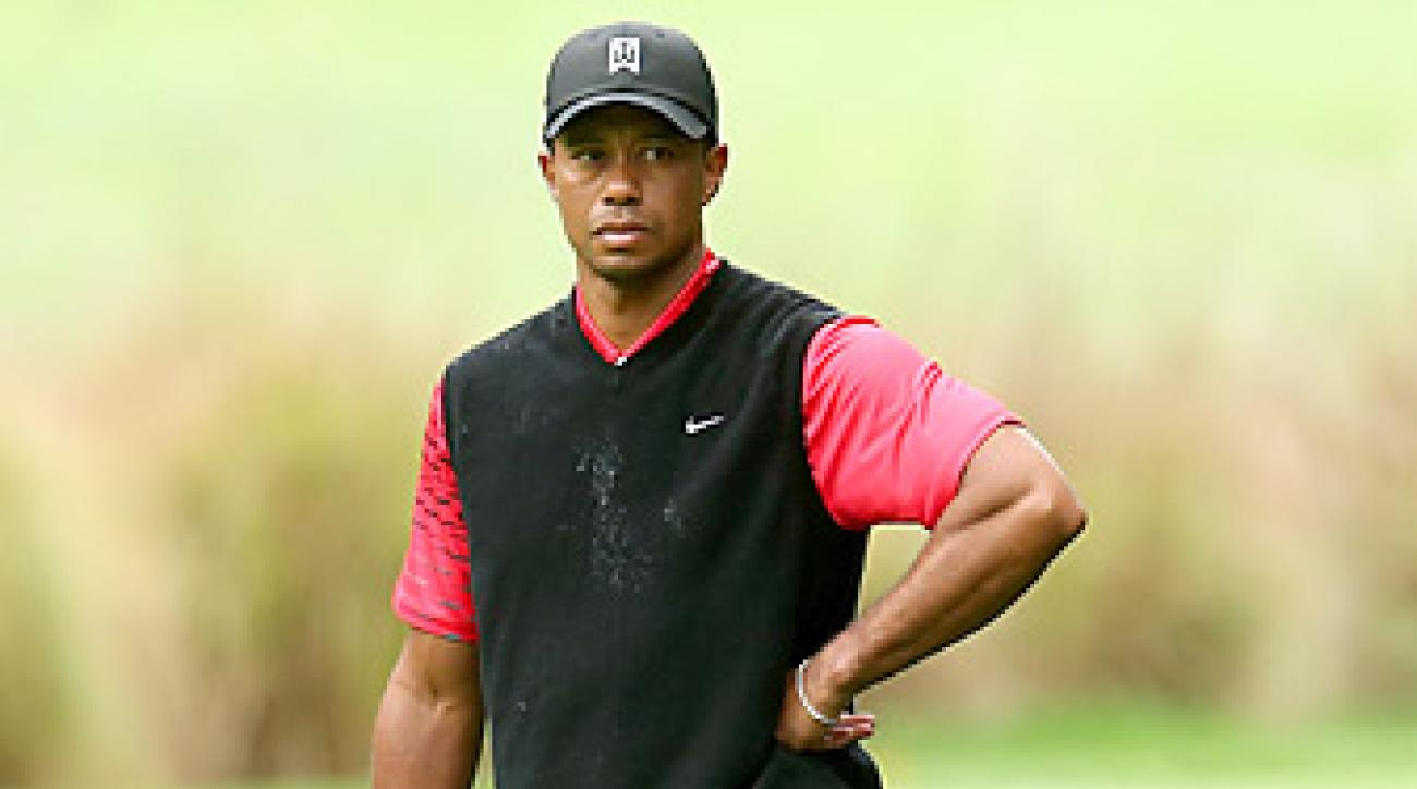 Tiger Woods won three times on the PGA Tour, but failed to take home a major title.