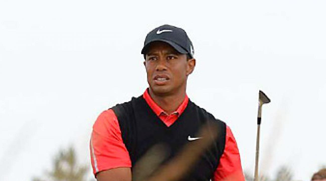 Tiger Woods, shown here at the U.S. Open at Merion, will play in Dubai in 2014, where he is a two-time winner.