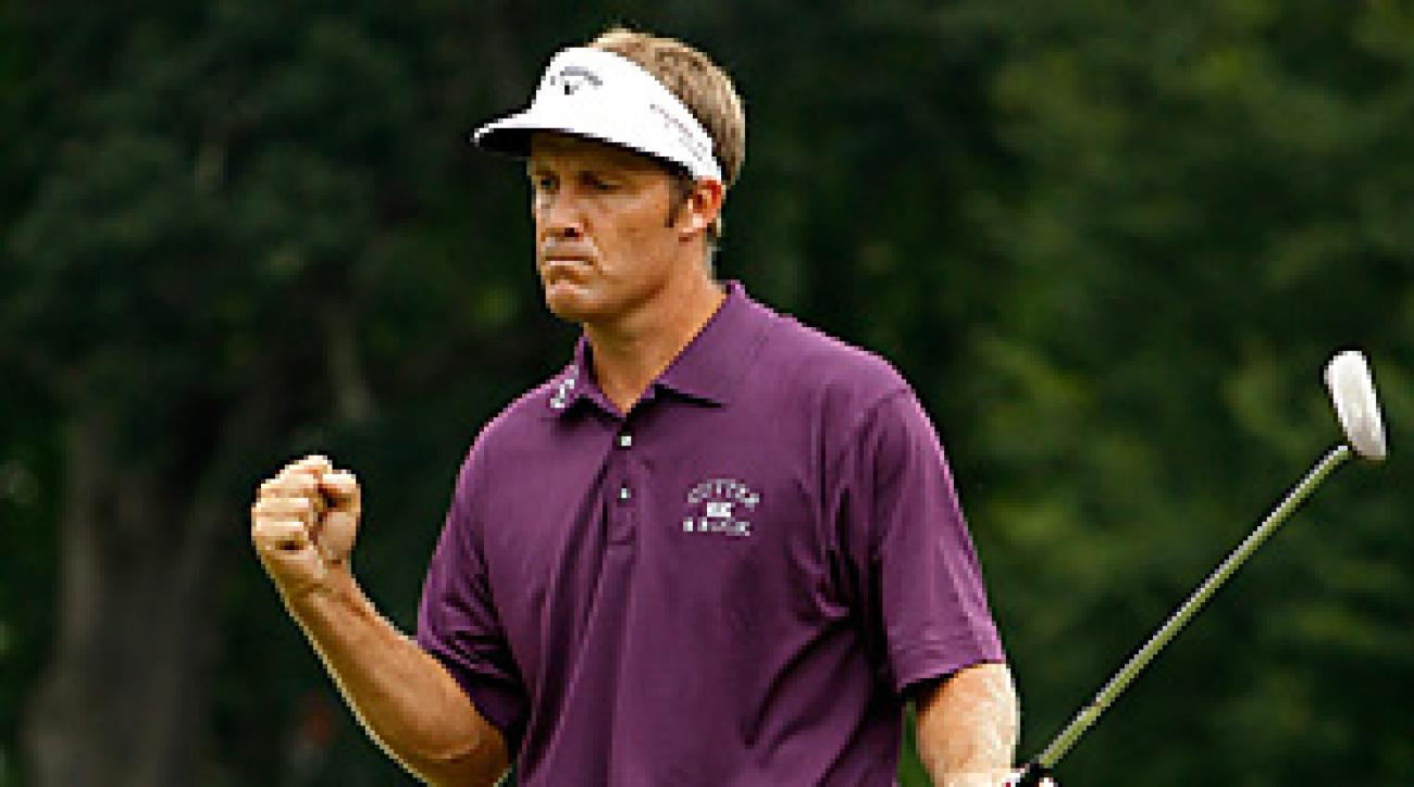 Stuart Appleby made a 10-footer for birdie on the 18th hole for the fifth 59 in PGA Tour history.